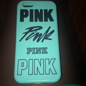 Pink turquoise iPhone 6/6s case